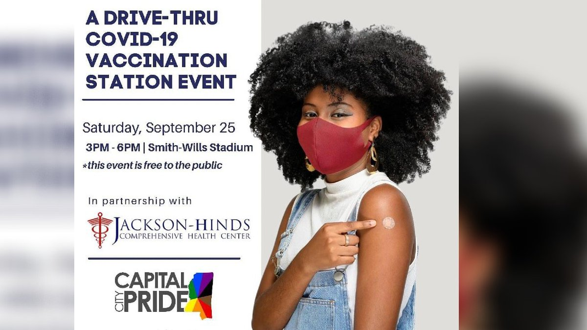 MS Capital City Pride, in collaboration with the Jackson-Hinds Comprehensive Health Center will...