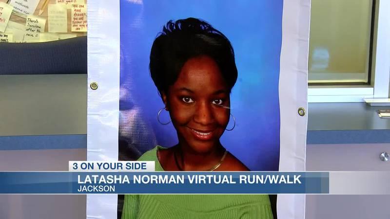 Latasha Norman virtual run/walk