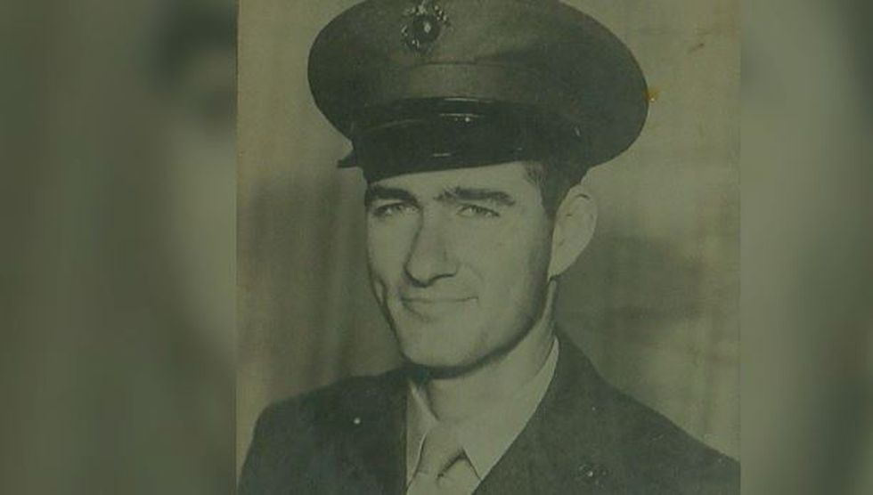 Billy Byrd during his days in the United States Marine Corps