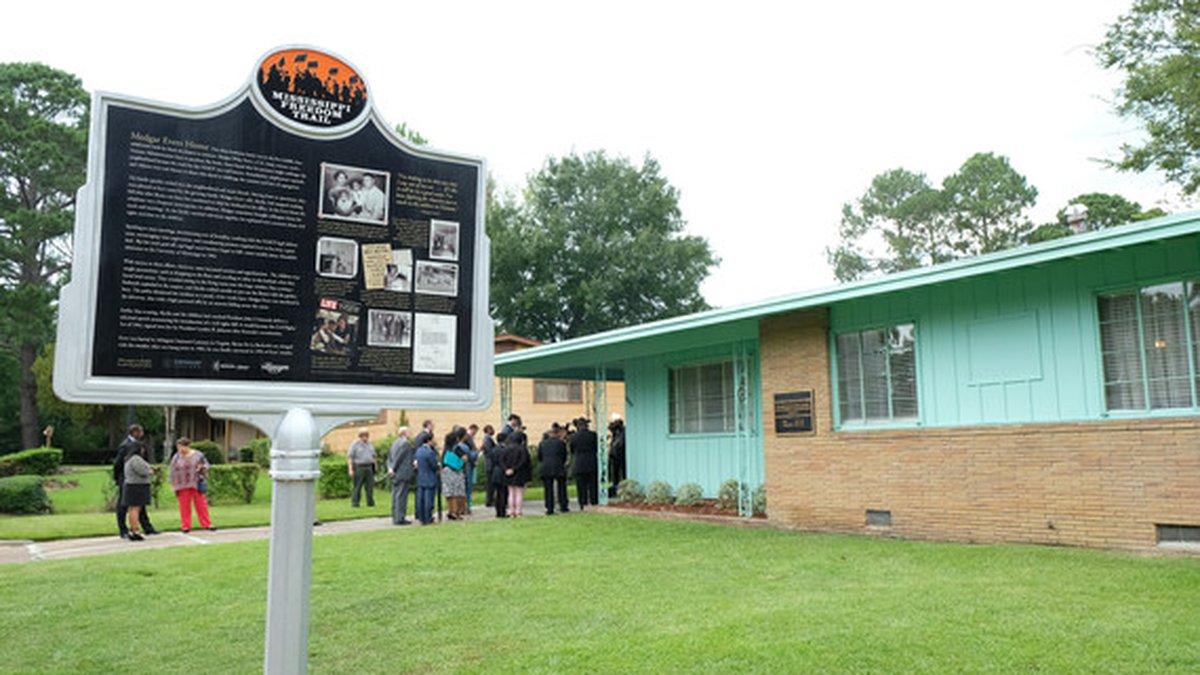 Medgar and Myrlie Evers home established as national monument