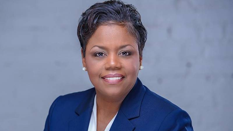 Ret. Army Col. Jennifer Riley Collins is running on the Democratic ticket for state attorney...
