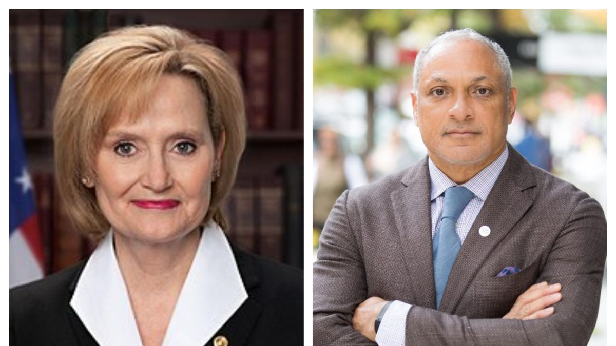 Republican Cindy Hyde-Smith and Democrat Mike Espy discussed issues affecting voters at Tuesday...