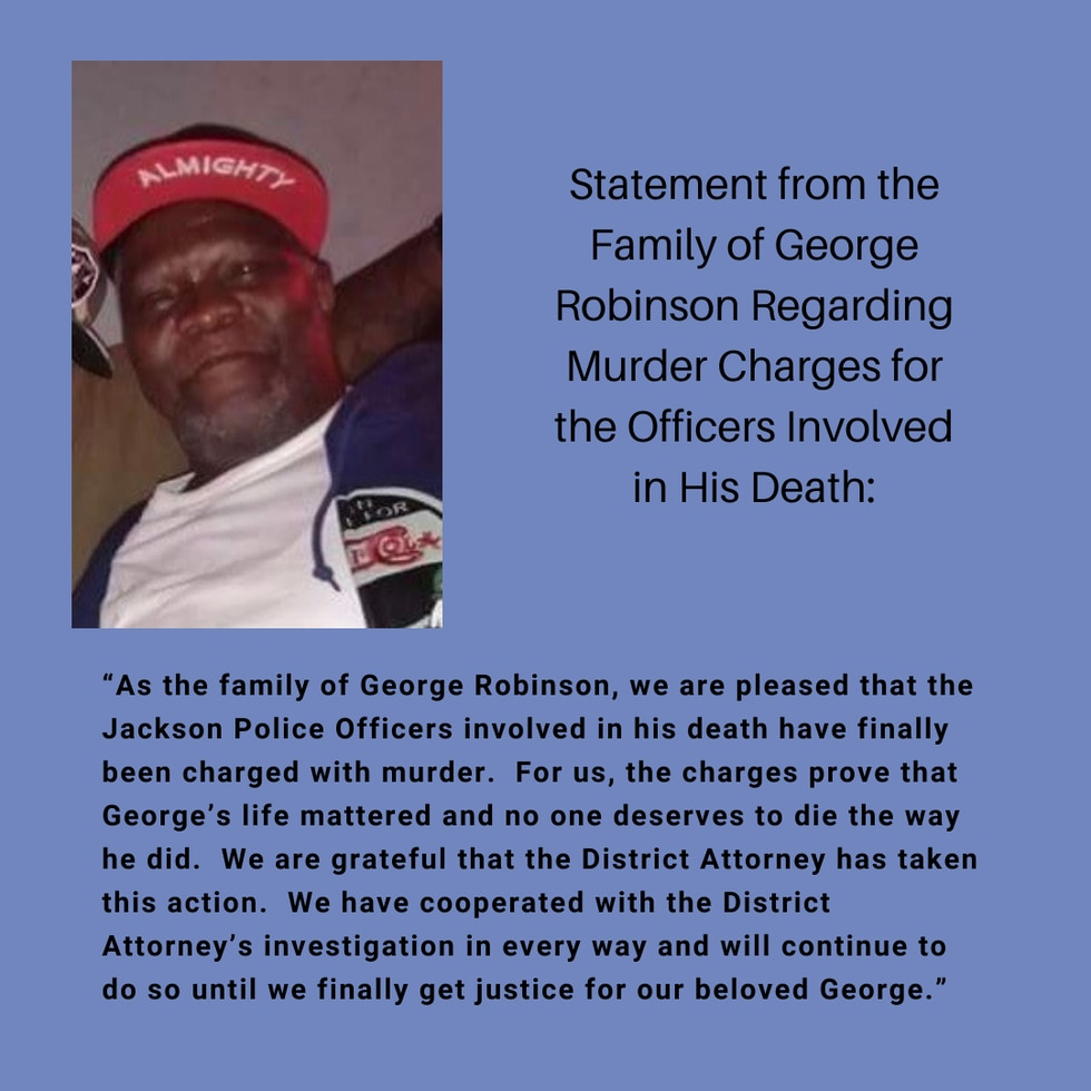 Officers indicted on second-degree murder charges in death of George Robinson