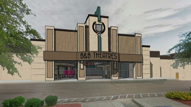 Rendering of new B&B Theatre at Northpark Mall (Source: City of Ridgeland)