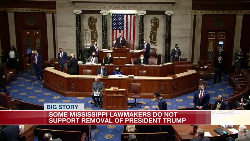 Some Miss. lawmakers do not support removal of President Trump