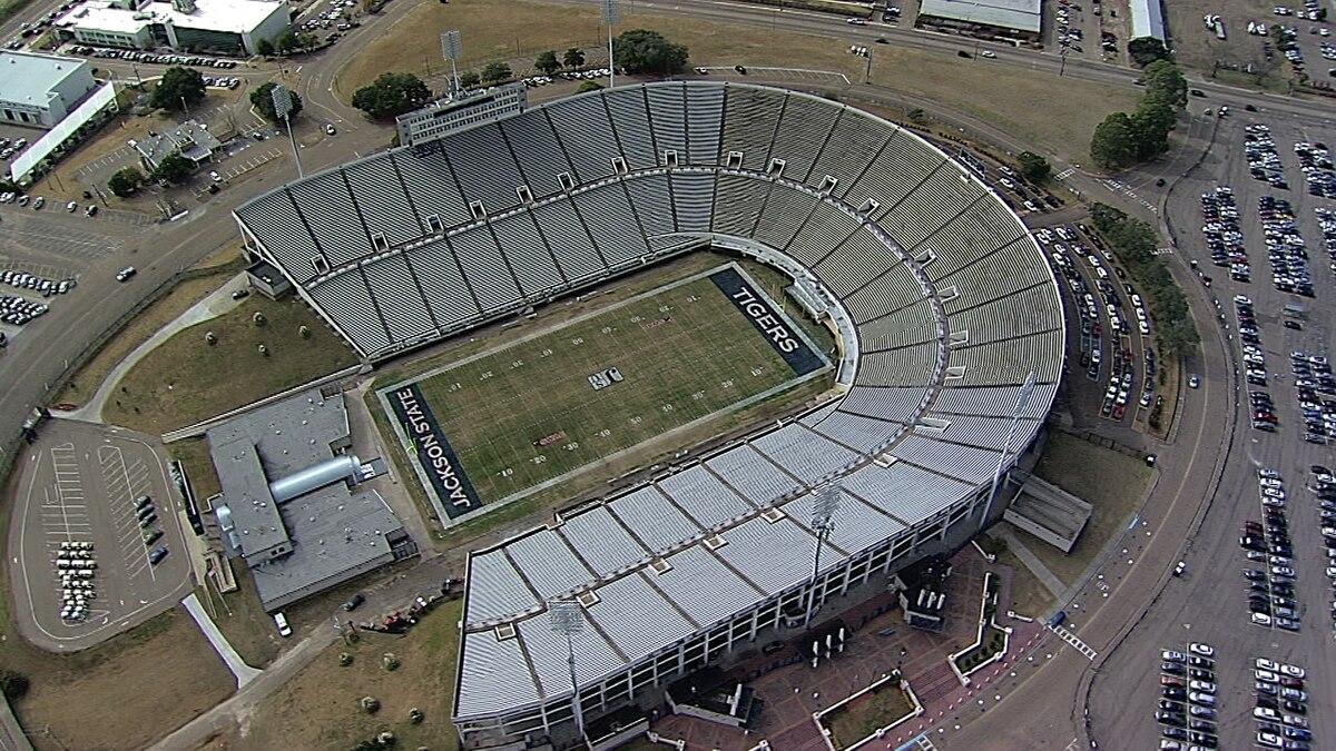 Veterans Memorial Stadium at Jackson State University
