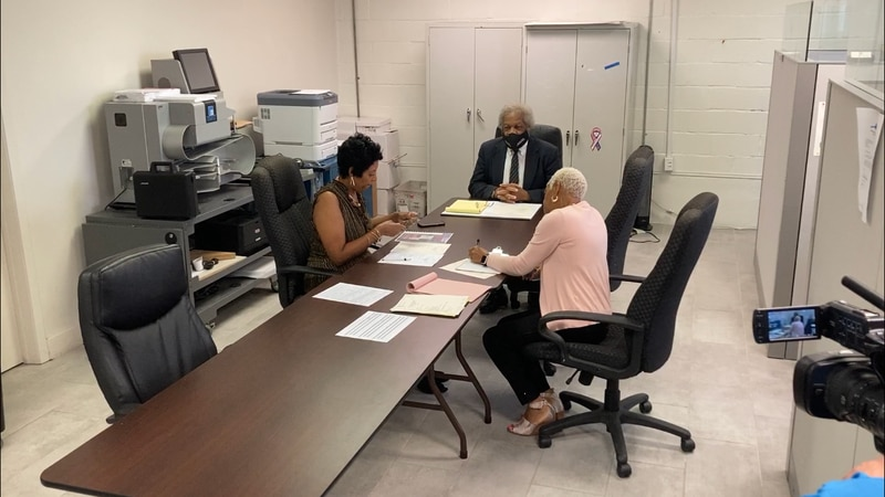 Hinds County Election Commission meeting on September 13.