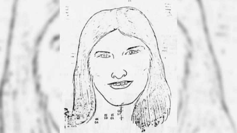 Composite of Rankin County Jane Doe's body found in 1978.