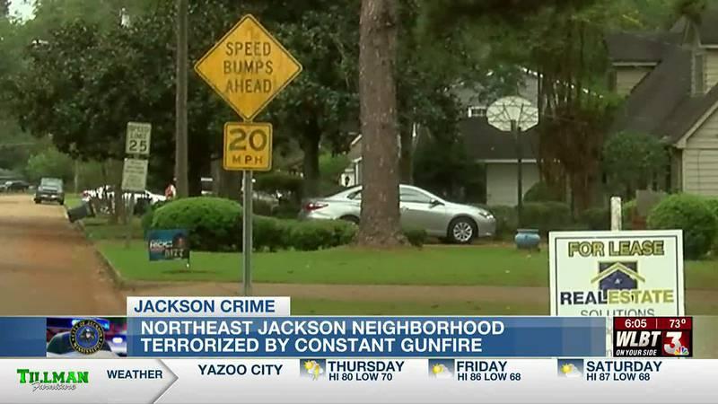 Near daily gunfire terrorizes NorthEast Jackson residents