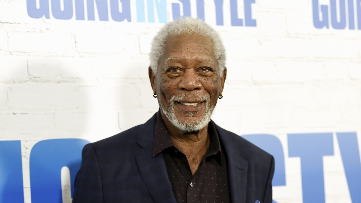 """Actor Morgan Freeman attends the world premiere of """"Going in Style"""" at the SVA Theatre on..."""