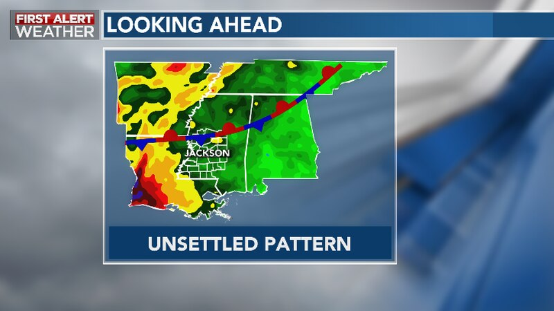 Summery Storm and Humidity Pattern Emerges