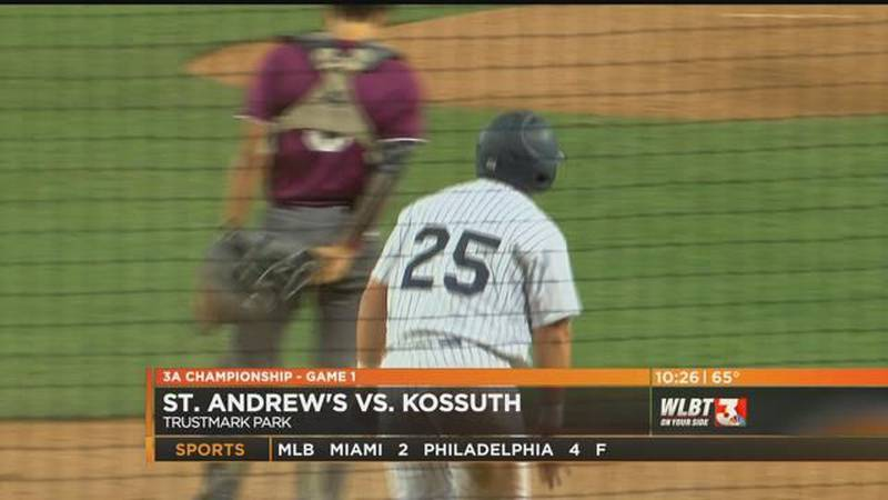 St. Andrew's drops Game 1 of 3A championship series, 3-2