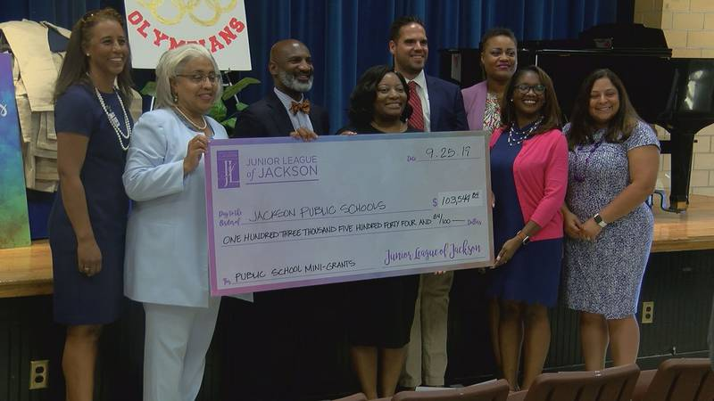 Junior League grants at Power APAC