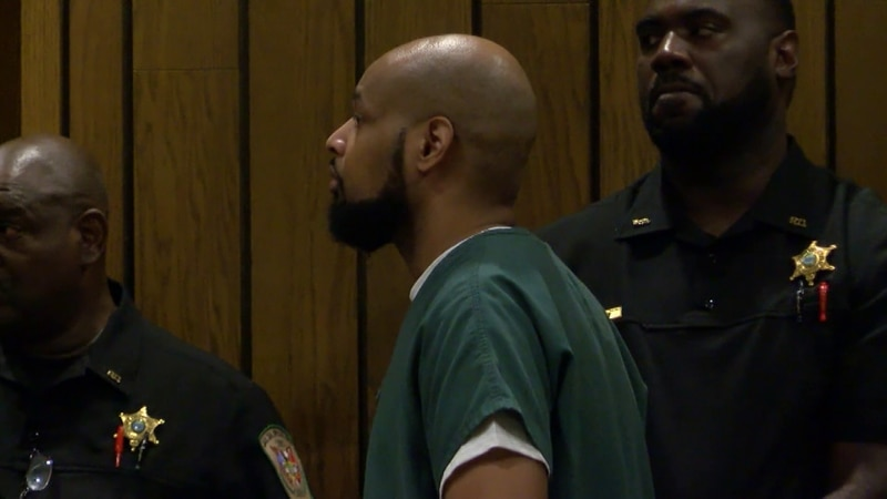 Martez Abram, accused Southaven Walmart shooter, appears in court for the first time.
