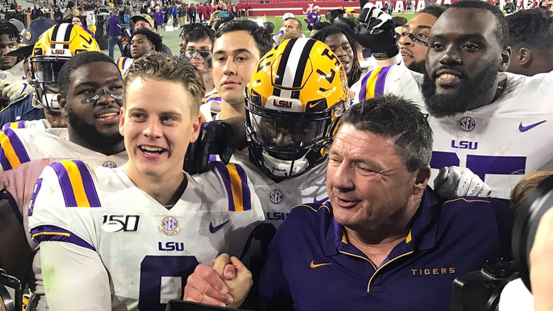 LSU at Alabama lived up to the hype of a big-time matchup featuring No. 1 against No. 2 and, in...