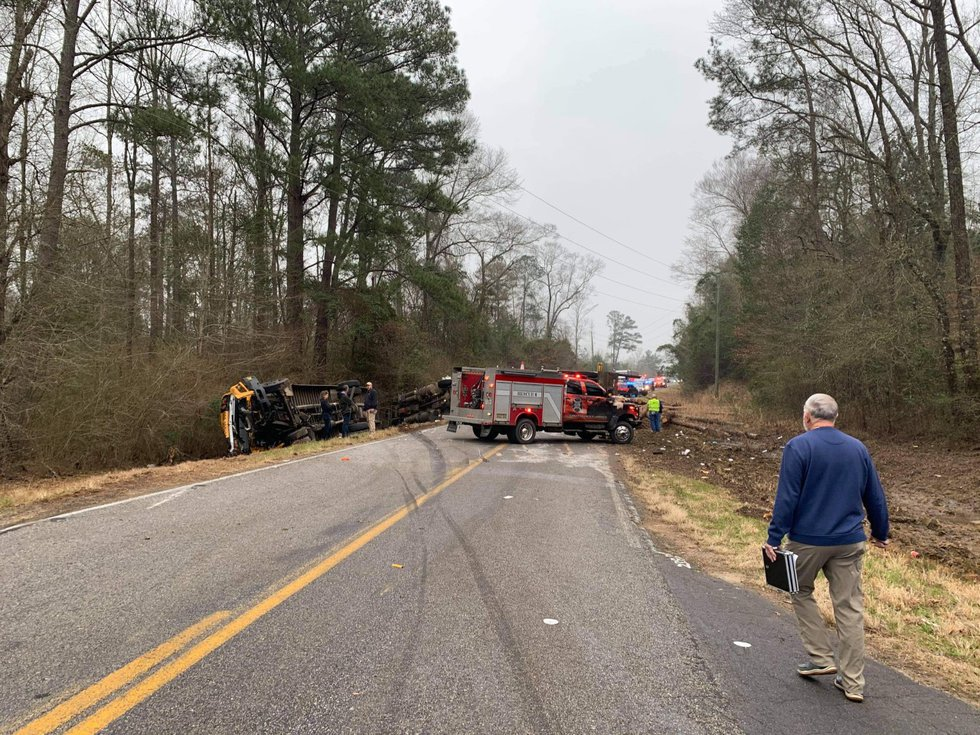Authorities are investigating a two-vehicle crash in Jones County that claimed the life of a...