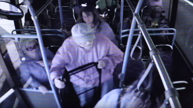 Police in Las Vegas are looking for witnesses after a woman was allegedly seen on video pushing...