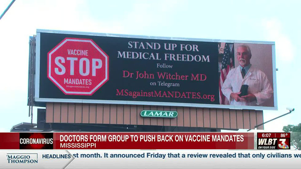 Mississippi doctors form group to push back against vaccine mandates