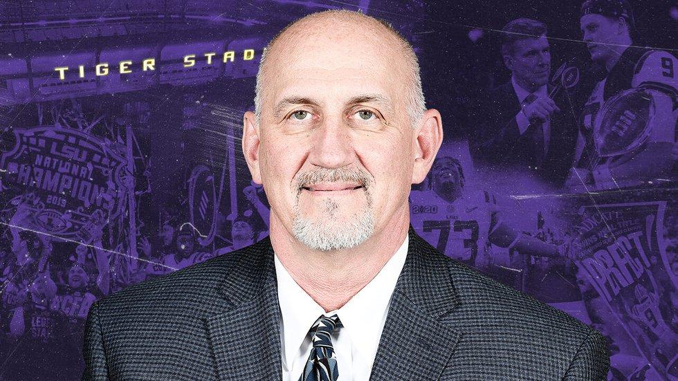 LSU Special Teams Coordinator Greg McMahon