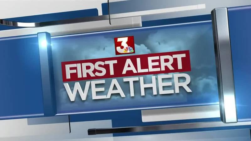 First Alert Forecast: hot, dry Thursday; steamy rain chances return
