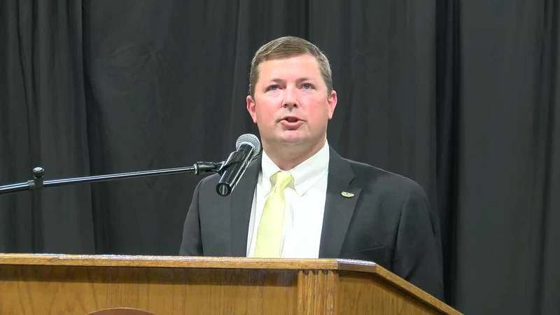 Will Hall was introduced as USM's head football coach Monday morning.