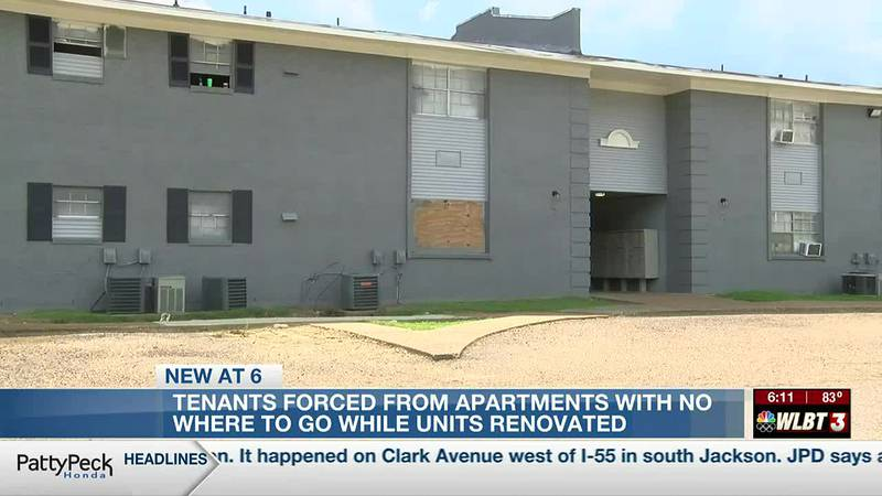 Renovations reportedly force the eviction of Jackson apartment residents