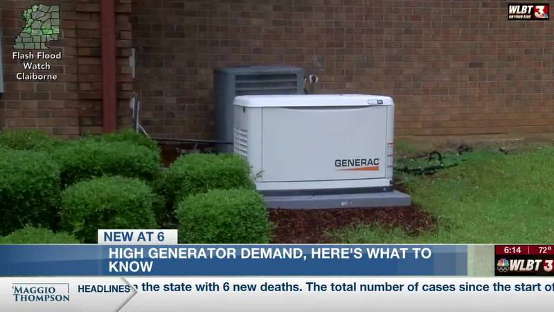Generators meet needs in power outages- but demand outpaces supply