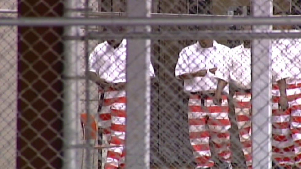Inmates at Mississippi State Penitentiary.