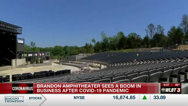 Brandon amphitheater sees boom in business after COVID pandemic