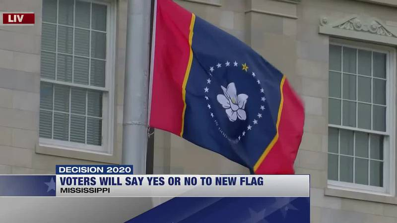 Voters will say yes or no to new state flag