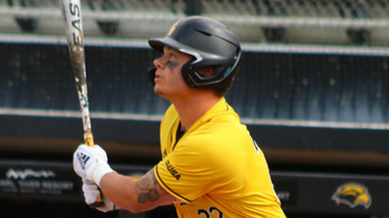 University of Southern Mississippi designated hitter Fischer hit .533 with five doubles and...