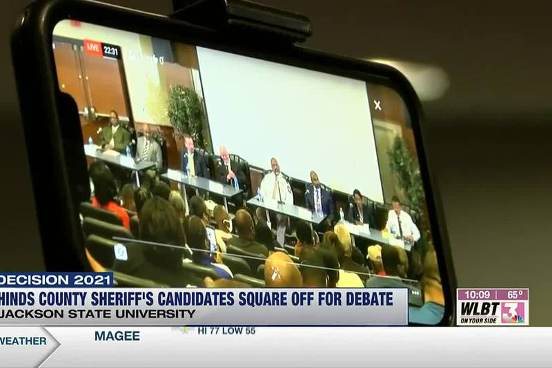 Hinds Co. sheriff debate takes place at Jackson State University